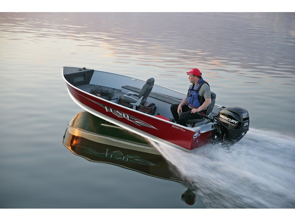 2016 Mercury Marine 25 hp EFI FourStroke (20 in) in Trego, Wisconsin