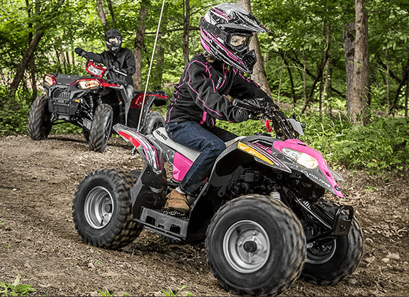 2017 Polaris Outlaw® 50 in Greenwood Village, Colorado