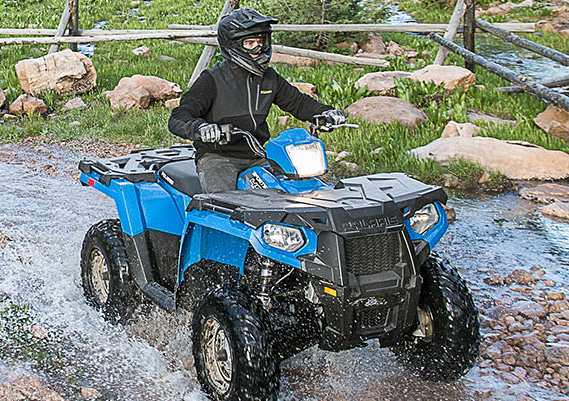 2017 Polaris Sportsman® 450 H.O. in Mount Pleasant, Michigan