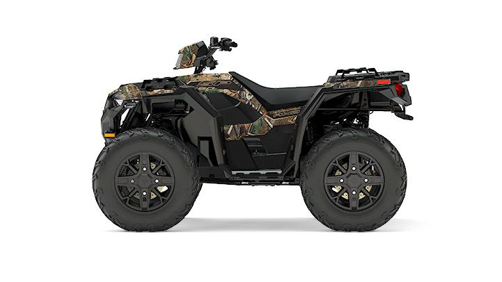 2017 Polaris Sportsman® 850 SP Polaris Pursuit® Camo in Mount Pleasant, Michigan