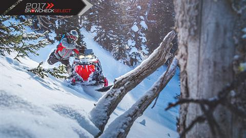 2017 Polaris 800 PRO-RMK® 155 in Mount Pleasant, Michigan