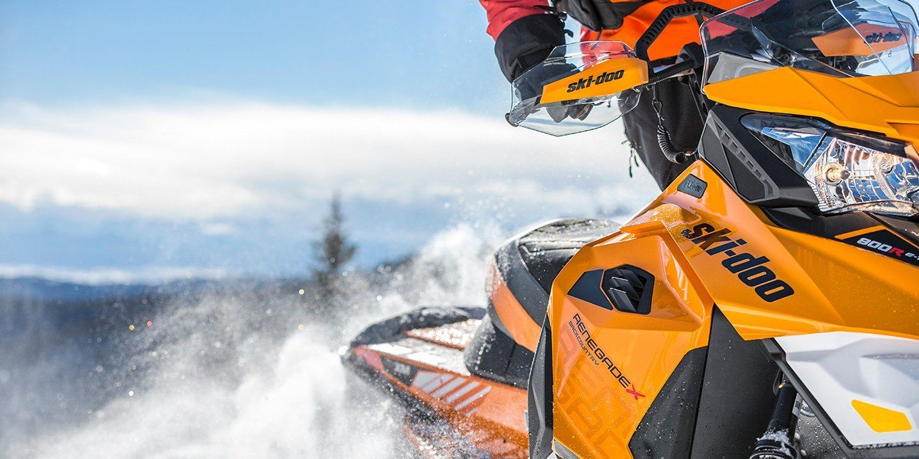 "2017 Ski-Doo Renegade® Backcountry™ X® 800R E-TEC® E.S. Powdermax 2.0"" in Pendleton, New York"