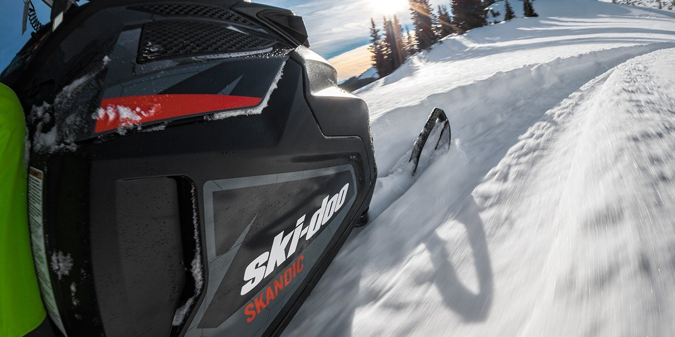 2017 Ski-Doo Skandic® WT 600 H.O. E-TEC® in Pendleton, New York