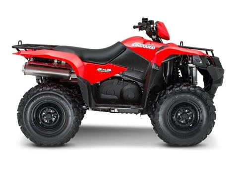 2015 Suzuki KingQuad 500AXi in Columbus, Nebraska