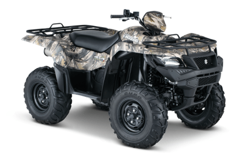 2016 Suzuki KingQuad 500AXi Camo in Cumberland, Maryland