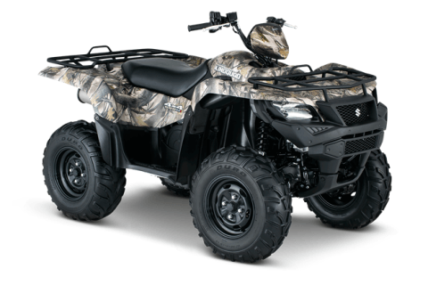 2016 Suzuki KingQuad 500AXi Power Steering Camo in Cumberland, Maryland