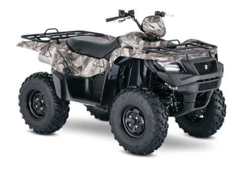 2016 Suzuki KingQuad 750AXi Power Steering Camo in Cumberland, Maryland