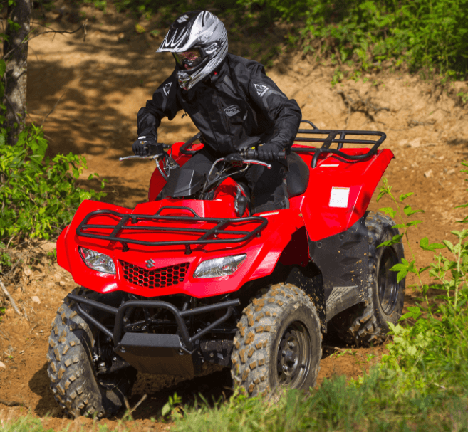 2017 Suzuki KingQuad 400FSi in Falmouth, Maine