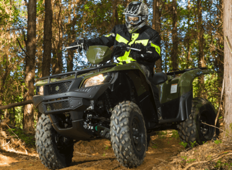 2017 Suzuki KingQuad 500AXi Power Steering in Greenwood Village, Colorado