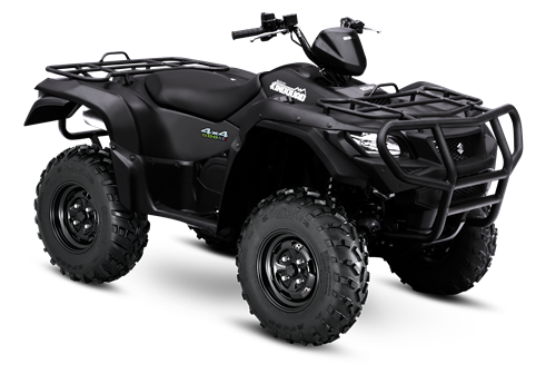 2017 Suzuki KingQuad 500AXi Power Steering Special Edition with Rugged Package in Falmouth, Maine