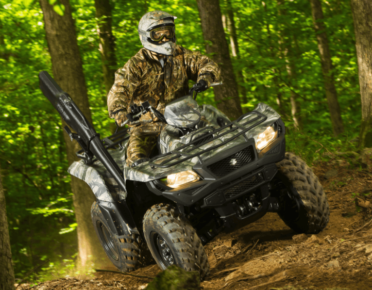 2017 Suzuki KingQuad 750AXi Camo in Greenwood Village, Colorado