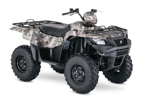 2017 Suzuki KingQuad 750AXi Power Steering Camo in Bremerton, Washington