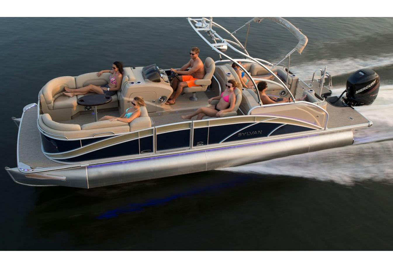 New 2016 Sylvan Mandalay 8525 Sportlounger Power Boats