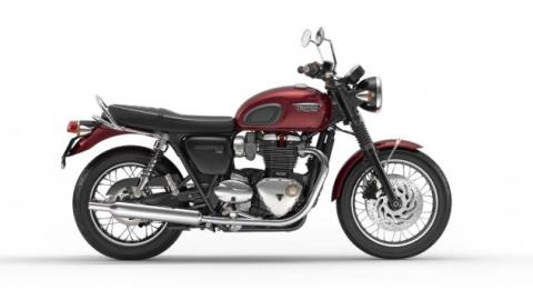 2016 Triumph Bonneville T120 in New Haven, Connecticut