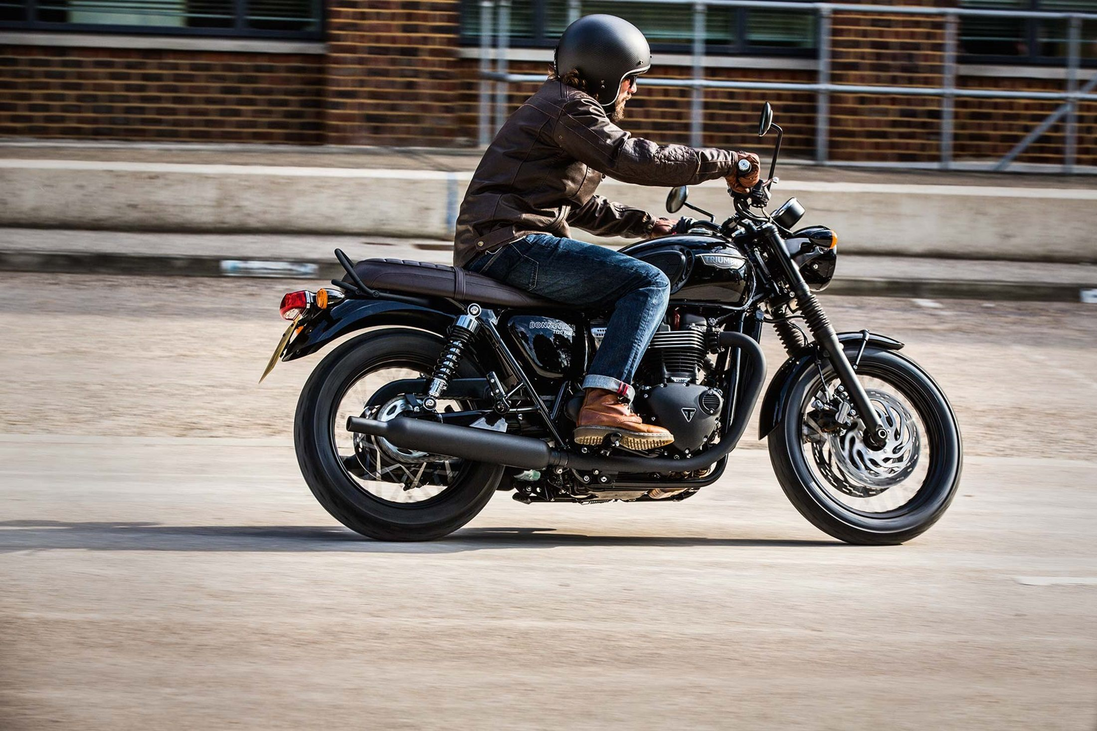 New 2017 Triumph Bonneville T120 Black Motorcycles in ...