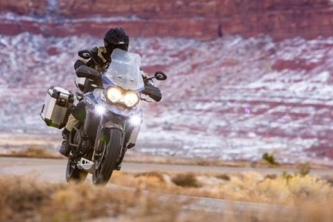 2017 Triumph Tiger Explorer XRx in Denver, Colorado