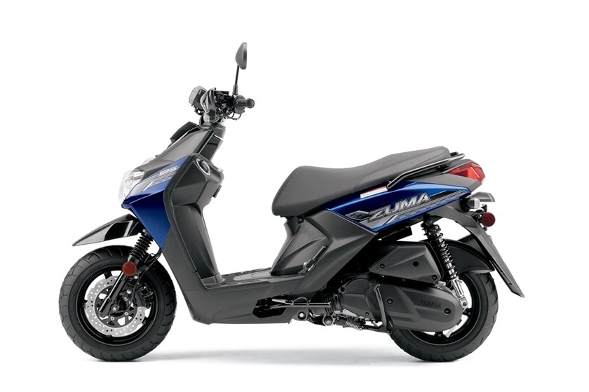 new 2016 yamaha zuma 125 scooters in fort myers fl. Black Bedroom Furniture Sets. Home Design Ideas