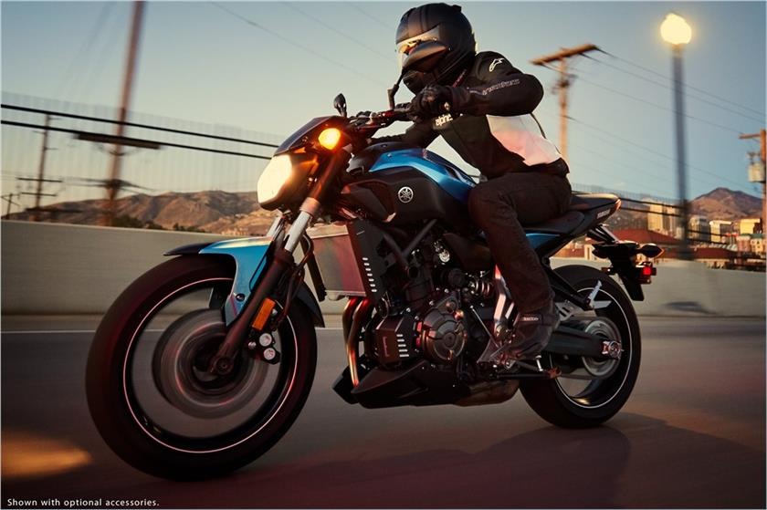 2017 Yamaha FZ-07 in Fontana, California