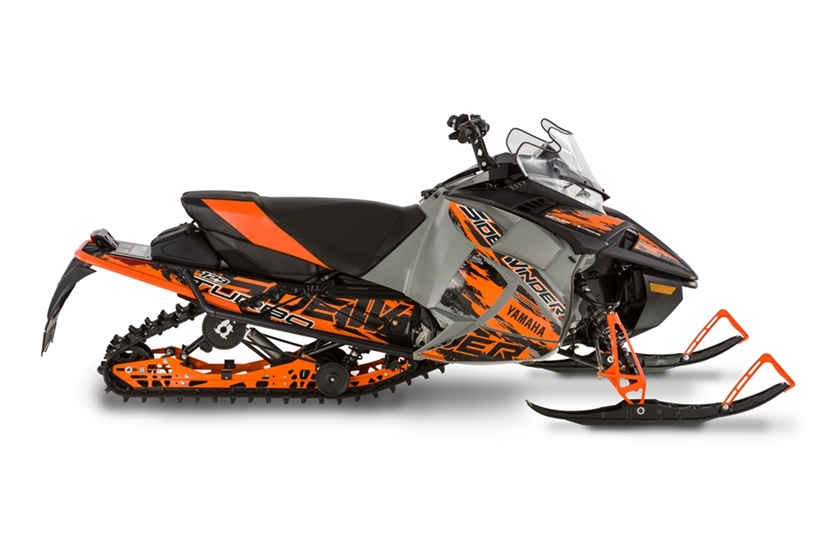 New 2017 yamaha sidewinder r tx se snowmobiles in francis for New yamaha snowmobile