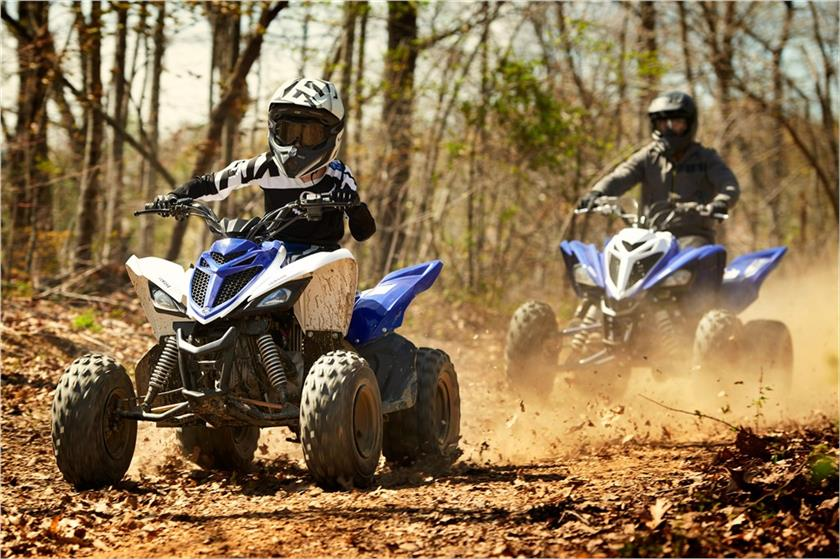 2018 Yamaha Raptor 90 in Santa Maria, California